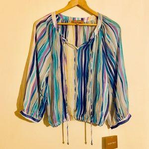 Brand New! Women's Ellen Tracy Shear Shirt